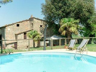 Ferienhaus Casa Leccio (PNC185) in Pomarance - 10 Personen, 5 Schlafzimmer