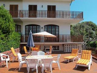 Ferienhaus Villa I Machiaioli  in Castiglioncello (LI), Riviera degli Etruschi -