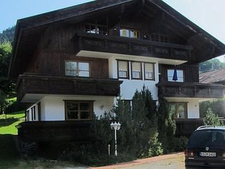 Apartment Oberstdorf for 1 - 4 people 2 bedroom - apartment in one or multi-fam