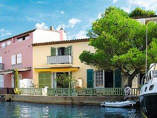 Ferienhaus Bleu Azur (POG120) in Port Grimaud - 8 Personen, 2 Schlafzimmer