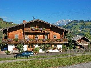 Ferienwohnung Bauernhof Hallmoos (WAR105) in Wagrain - 4 Personen, 2 Schlafzimme
