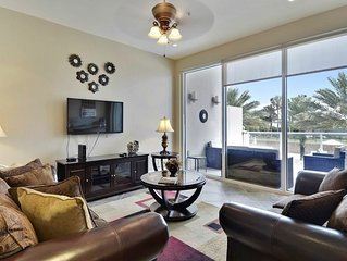 Diamond Beach 216 has a lazy river in the resort. The BEST Gulf Views!