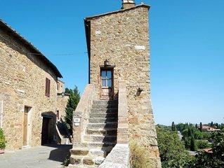 Ferienhaus Torre di Giona (SQO101) in San Quirico d'Orcia - 3 Personen, 1 Schlaf