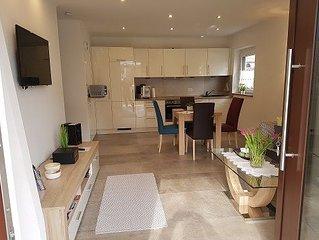 Ferienwohnung Rositta, 45 qm Erdgeschoss, 1 separates Schlafzimmer