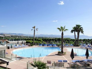 Apartment Residence Baie des Anges  in Antibes, Cote d'Azur - 3 persons