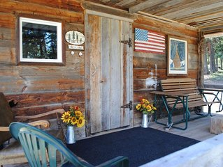 Stay at the Ol' Bock Place.  Horse friendly in spectacular NW Montana.