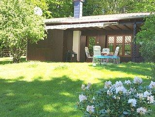 Holzhaus im Grunen - fernab vom Alltagstrubel