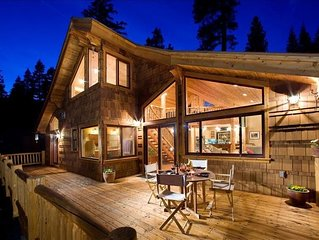Award Winning Alpine Lodge; Romantic Executive Estate