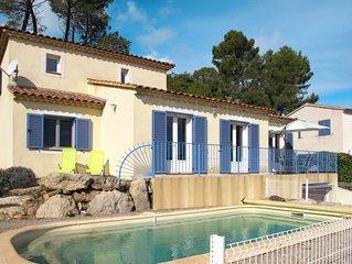 Ferienhaus Bougainvillier (SID130) in Sillans-la-Cascade - 6 Personen, 3 Schlafz