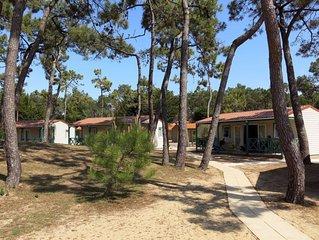 Ferienwohnung Atlantique Maison T2 Cabine  in St. Hilaire - de - Riez, Vendee -