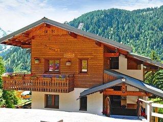 Apartment Le Petit Savoyard  in Châtel, Haute - Savoie - 6 persons, 2 bedrooms