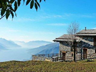 Vacation home Le Baite di Bodone  in Peglio (CO), Lake Como - 6 persons, 2 bedr
