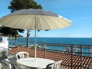 Ferienhaus Passiflora - Baia dei Gabbiani (SLR400) in San Lorenzo al Mare - 2 Pe