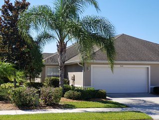 Lovely Sabal Trace Villa! Private Pool in Lanai! 2BR /3 BR  Golf course