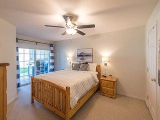 Waterfront, ground floor, 2 Bedroom Suite on Skaha Lake Paradise Resort