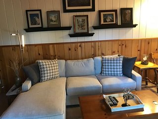 A cozy,  retreat under the pines.  Spacious. Sleeps 6. Close to hiking trails