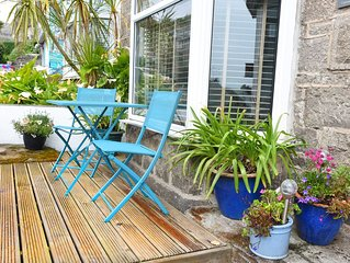 Cornish Pearl. St Ives. Spacious three bedroom cottage 400 yards to the beach