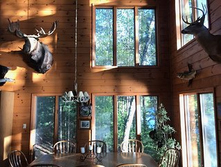 Lodge Home on Little Saint Germain Lake. Featured in Magazine!Home on Little Sai