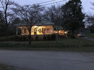 Farm House with Bunk House 1 Mile from Downtown Helen, Georgia