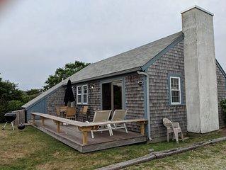 Madaket, Nantucket: 3BR House, early August, Walk To Beach!