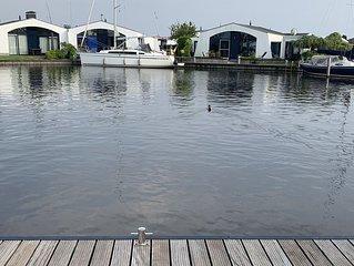 Wasser-Bungalow für 4 Pers. - Angeln - Baden - Bootfahren - Strandnah - Wlan