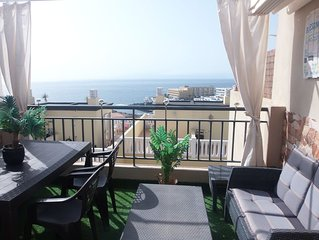 Beautiful house close to sea for 4/6 people,with amazing sea view,pools and wifi