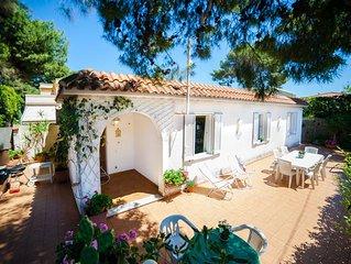 Mondello Villa indipendente ad 80 Mt dal Mare vicino Palermo