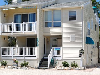 3rd from Beach, Spacious Upper Unit with Rooftop Deck!