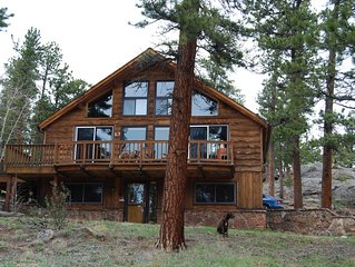 Ponderosa Cabin is just Minutes from Rocky Mountain National Park and Wild Basin