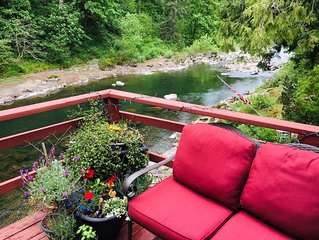 Incredible Waterfront- Fishing hole on the Washougal River