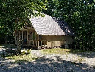 Nice 2 BR cabin near Cave Run Lake