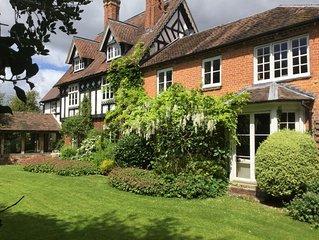Luxury family retreat 1 or 2 bedrooms near Ledbury and Malvern