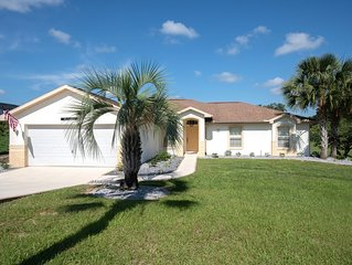 Golf Course Vacation Villa in Inverness, Florida