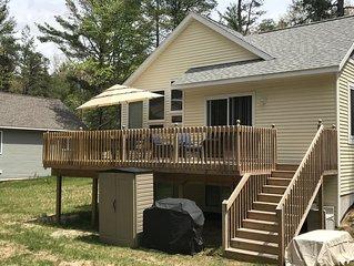 Brand New Cozy Cottage w/ Wifi-and private Lake Michigan beach access