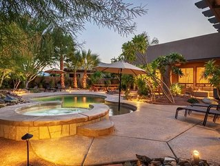 Sleeps up to 14, Pet Friendly w/Pool, spa, and Casita - Walk to Coachella!