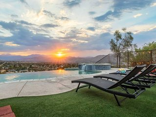 The Sunset House Joshua Tree w/ Infinity Pool+Spa