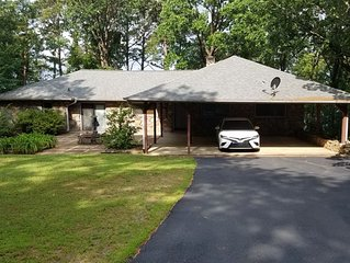 New Listing, Lakefront home on Greers Ferry Lake!