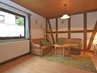 Detached holiday residence in the wonderfully beautiful Harz.