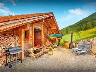 Chalet 4 etoiles lumineux - Bain nordique, sauna et wifi - OVO Network