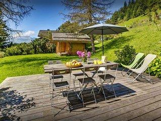 Chalet 3* familial a 1km des pistes, sauna, jardin, wifi - OVO Network