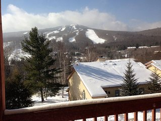 Mount Snow Condo at Snow Mountain Village; Great Views, Free shuttle, Pool.