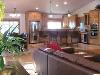 Luxury Custom Home at North Shore; Minutes to Northstar;  Walk to Beach