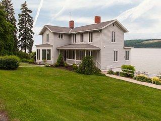 Dean Lake House:'Historic Seneca Lake Home'