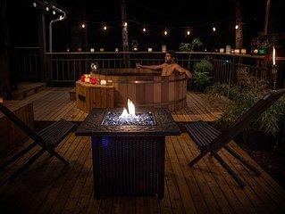 Spacious Private Cabin w/ Outdoor Sauna Near Coal Creek