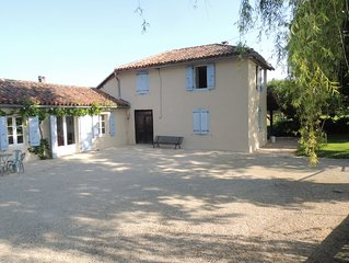 Traditional Gersoise Farmhouse With Private Pool