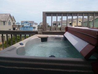 Spacious Village of Nags Head, Private Pool,  Ocean views, Hot Tub