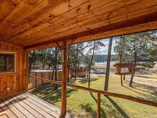 Charming Black Hills Log Home