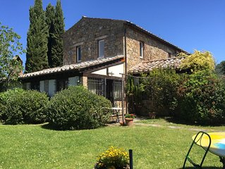 Charming and Cozy Cottage in Tuscany, Montepulciano, Pienza Cortona