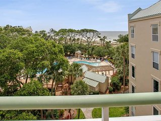 505 Windsor Place: 1 BR / 2 BA oceanfront villas in Hilton Head Island, Sleeps 4