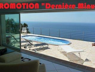 LE COIN DE PARADIS, Villa luxueuse  vue mer paradisiaque  TARIFS DERNIERE MINUTE